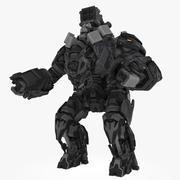Mech robot type A 3d model