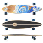 Longboard Termit Pin Tail 2 3d model