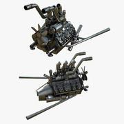 двигатель 3d model