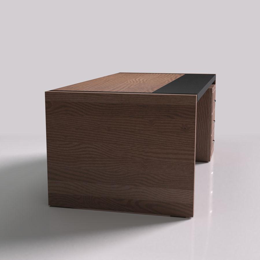 经理桌 royalty-free 3d model - Preview no. 2