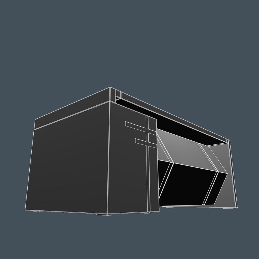 经理桌 royalty-free 3d model - Preview no. 8