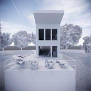 Lake House 3d model
