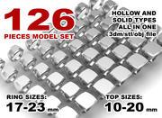 印刷可能なシグネットリングセットクッショントップ 3d model