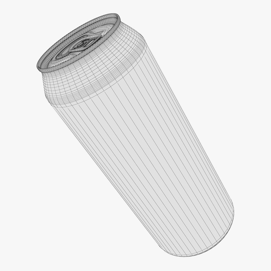 Aluminum Can 1 royalty-free 3d model - Preview no. 15