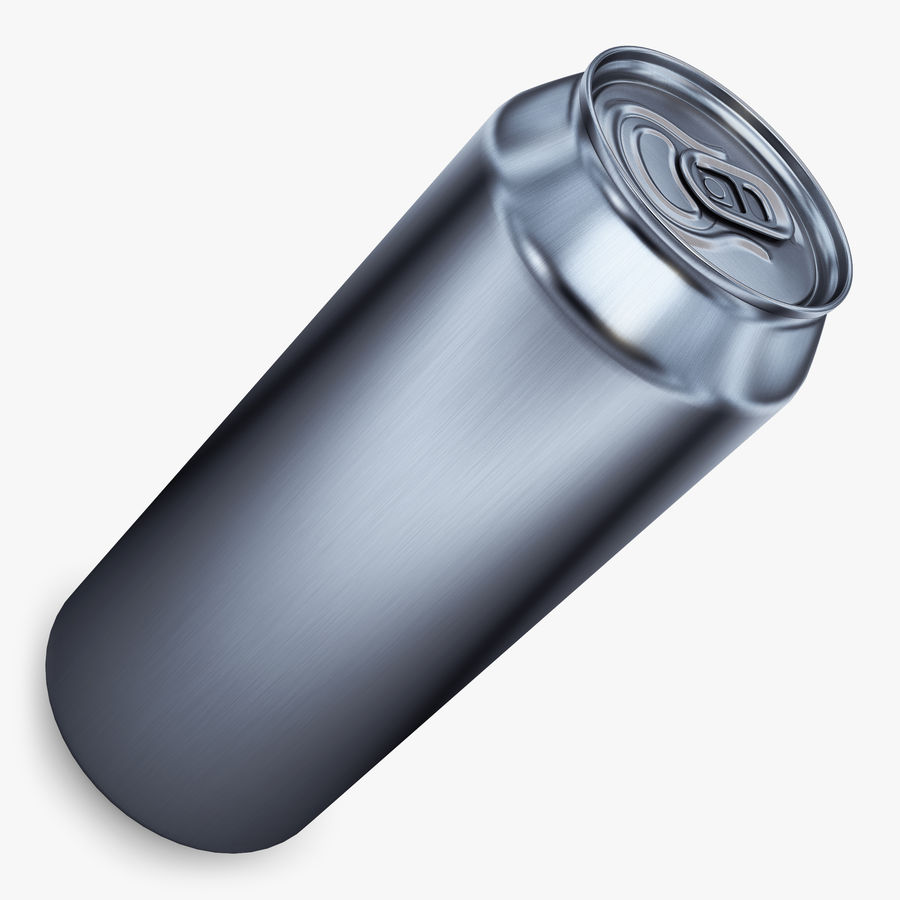 Aluminum Can 1 royalty-free 3d model - Preview no. 1
