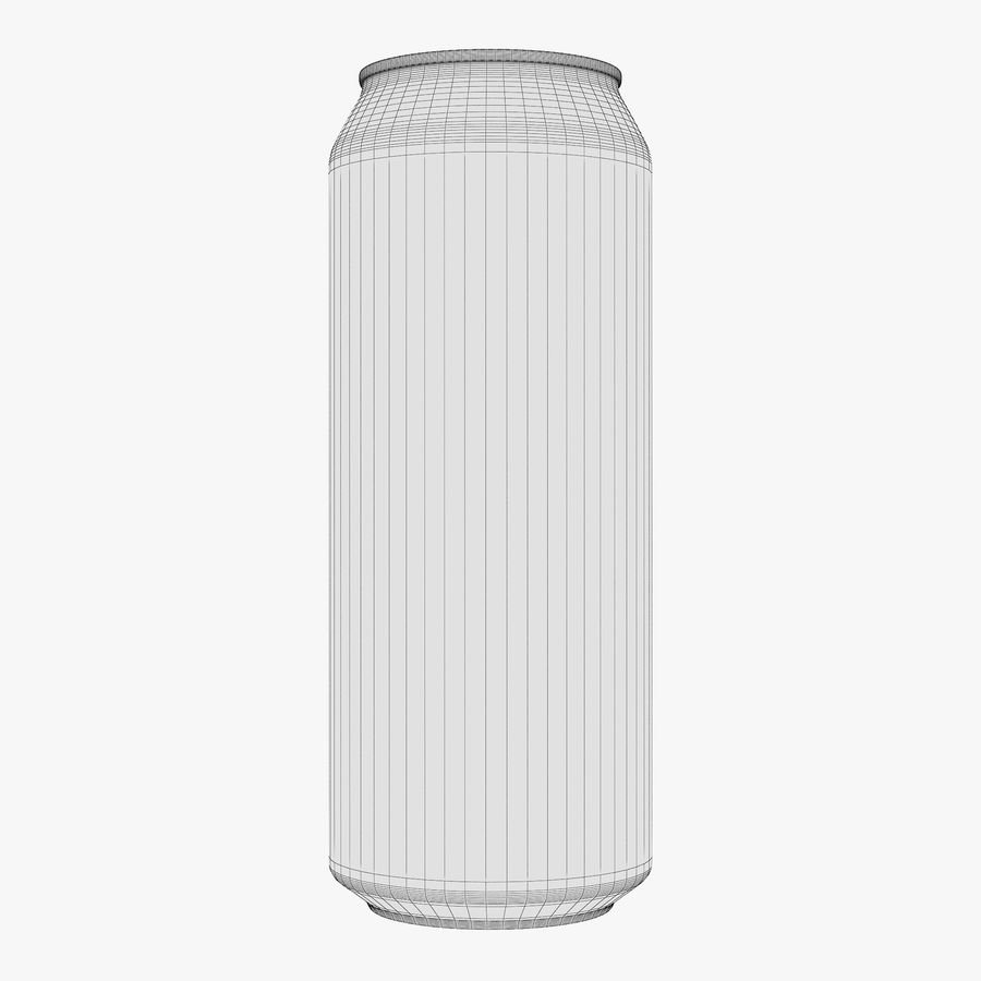 Aluminum Can 1 royalty-free 3d model - Preview no. 11