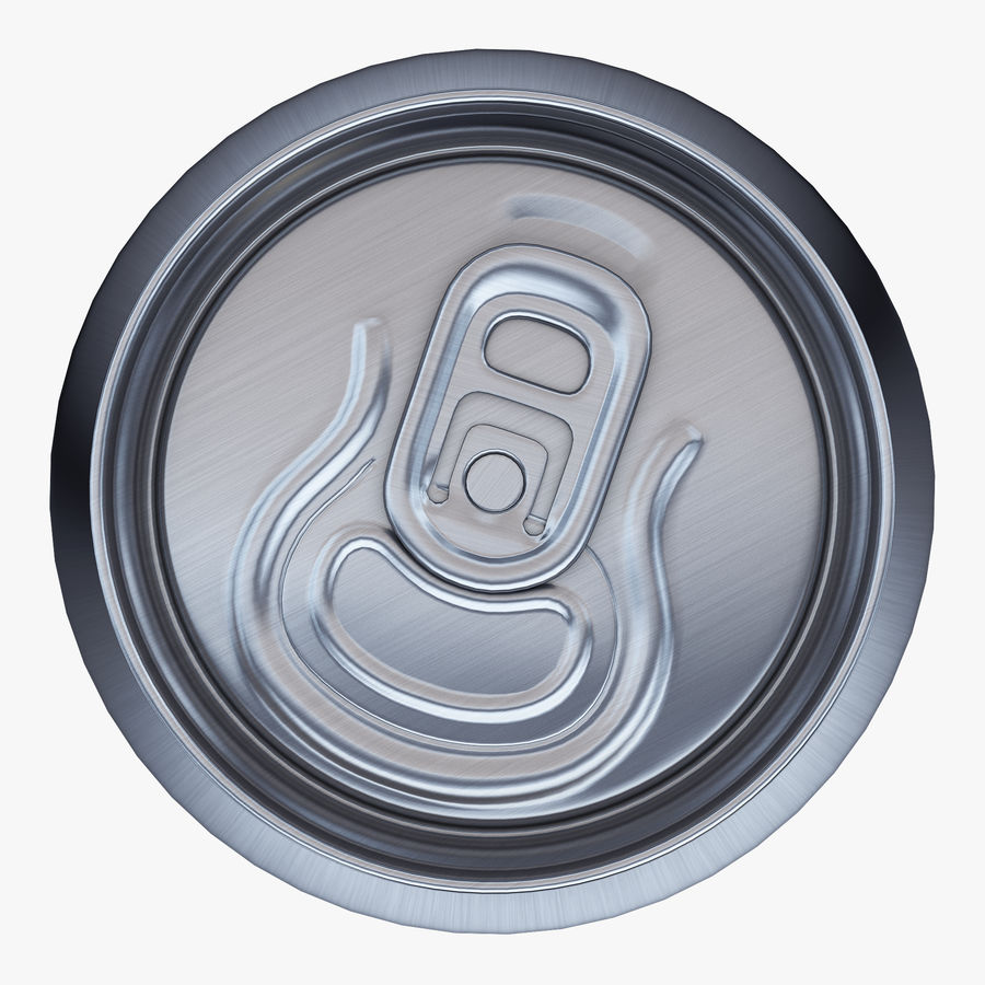 Aluminum Can 1 royalty-free 3d model - Preview no. 6