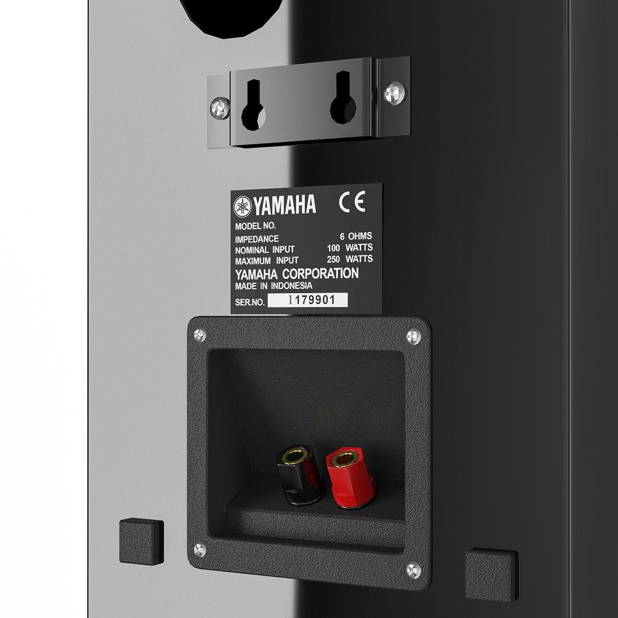 扬声器Yamaha NS-333 royalty-free 3d model - Preview no. 5