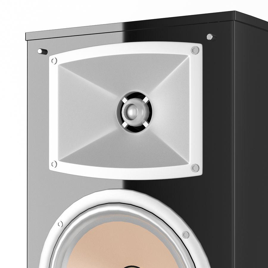 扬声器Yamaha NS-333 royalty-free 3d model - Preview no. 4