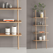 Oak Display Shelf 3d model