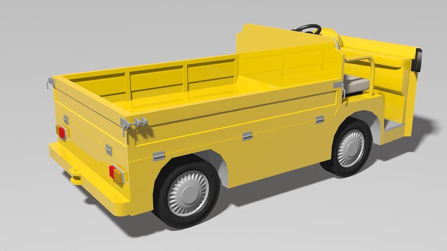 Vehículo industrial eléctrico royalty-free modelo 3d - Preview no. 2