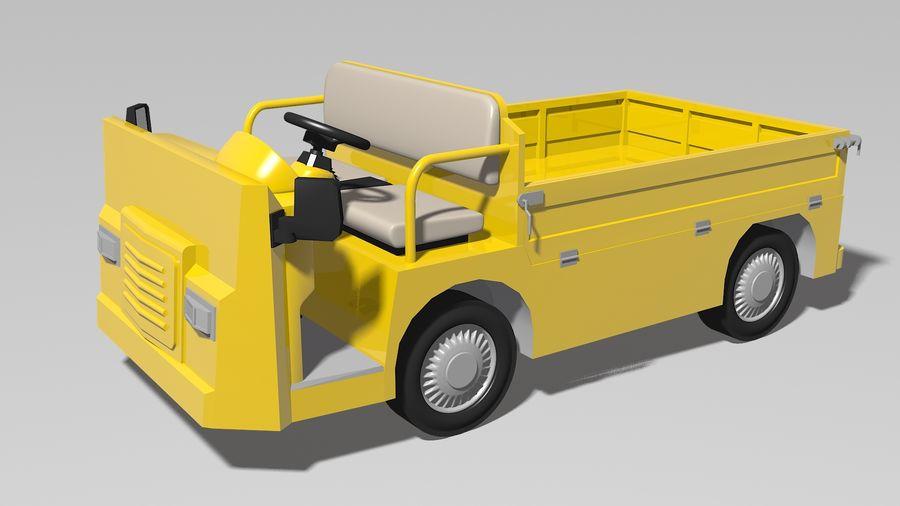 Vehículo industrial eléctrico royalty-free modelo 3d - Preview no. 1