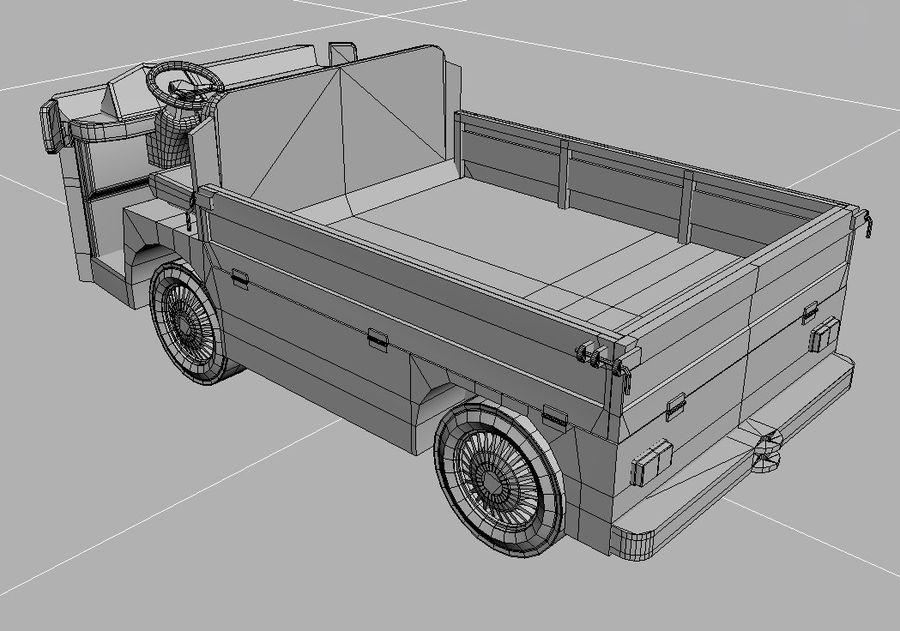 Vehículo industrial eléctrico royalty-free modelo 3d - Preview no. 6