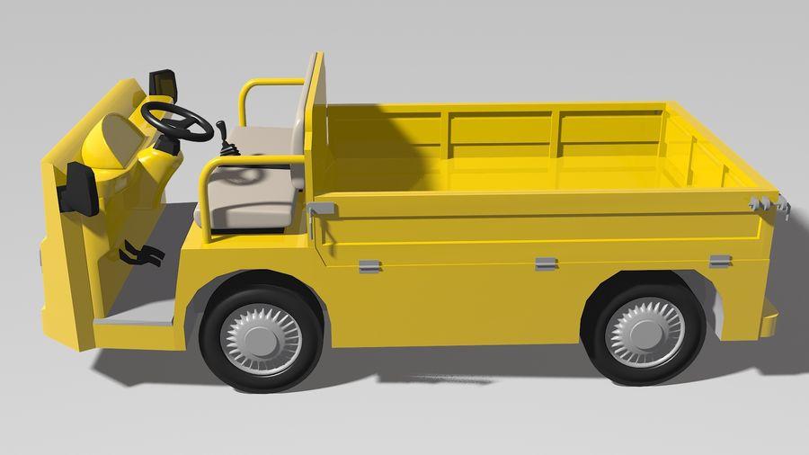 Vehículo industrial eléctrico royalty-free modelo 3d - Preview no. 3