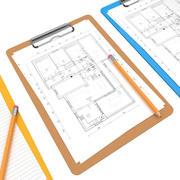3 Color ClipBoard 3d model