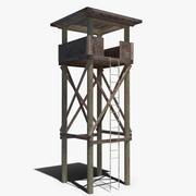 시계탑 3d model