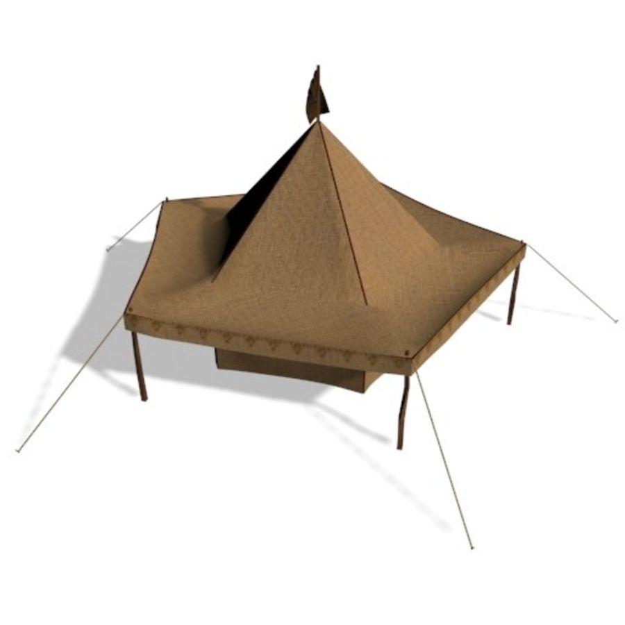 Tente arabe royalty-free 3d model - Preview no. 3