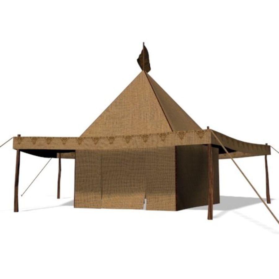 Tente arabe royalty-free 3d model - Preview no. 1