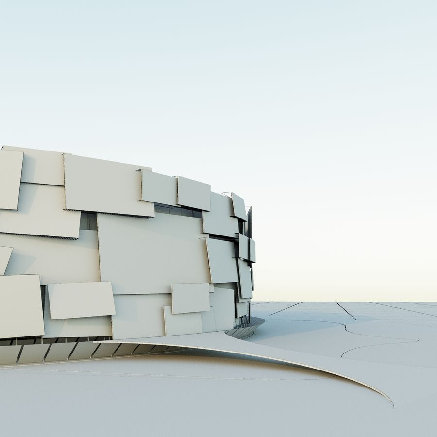 Stadium 05 royalty-free 3d model - Preview no. 8