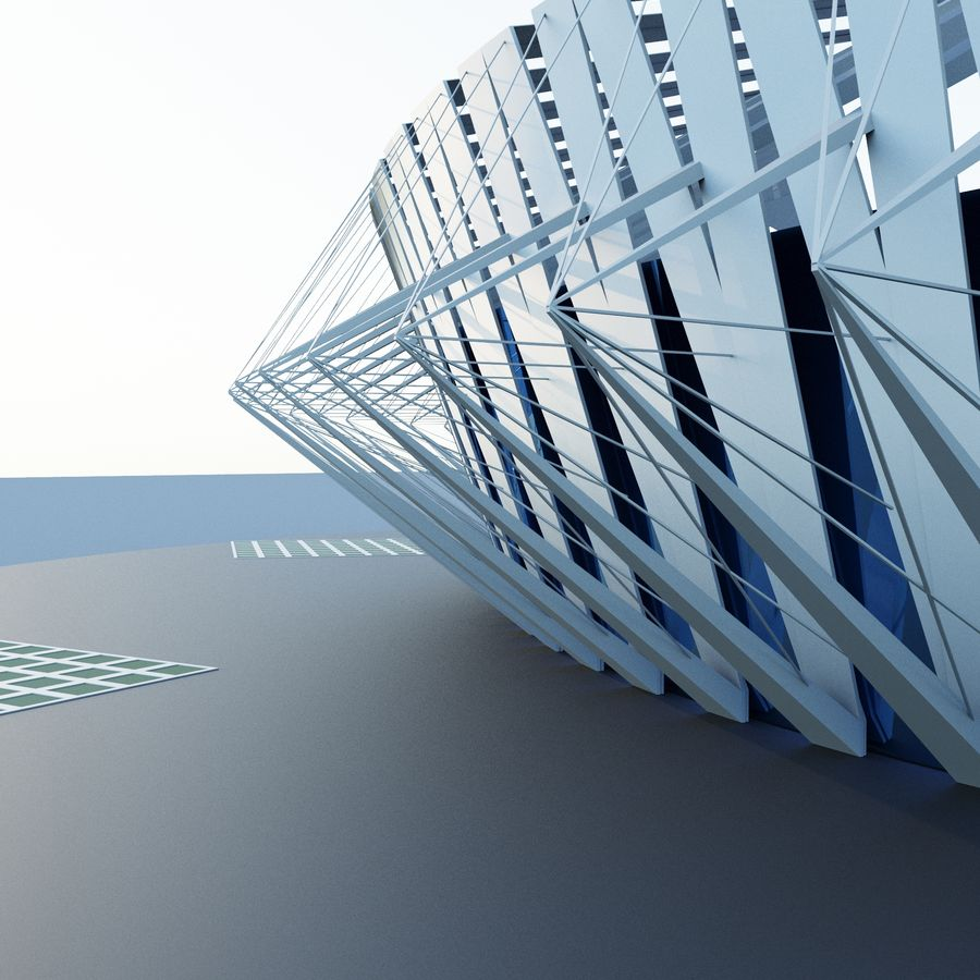 Stadion 02 royalty-free 3d model - Preview no. 1