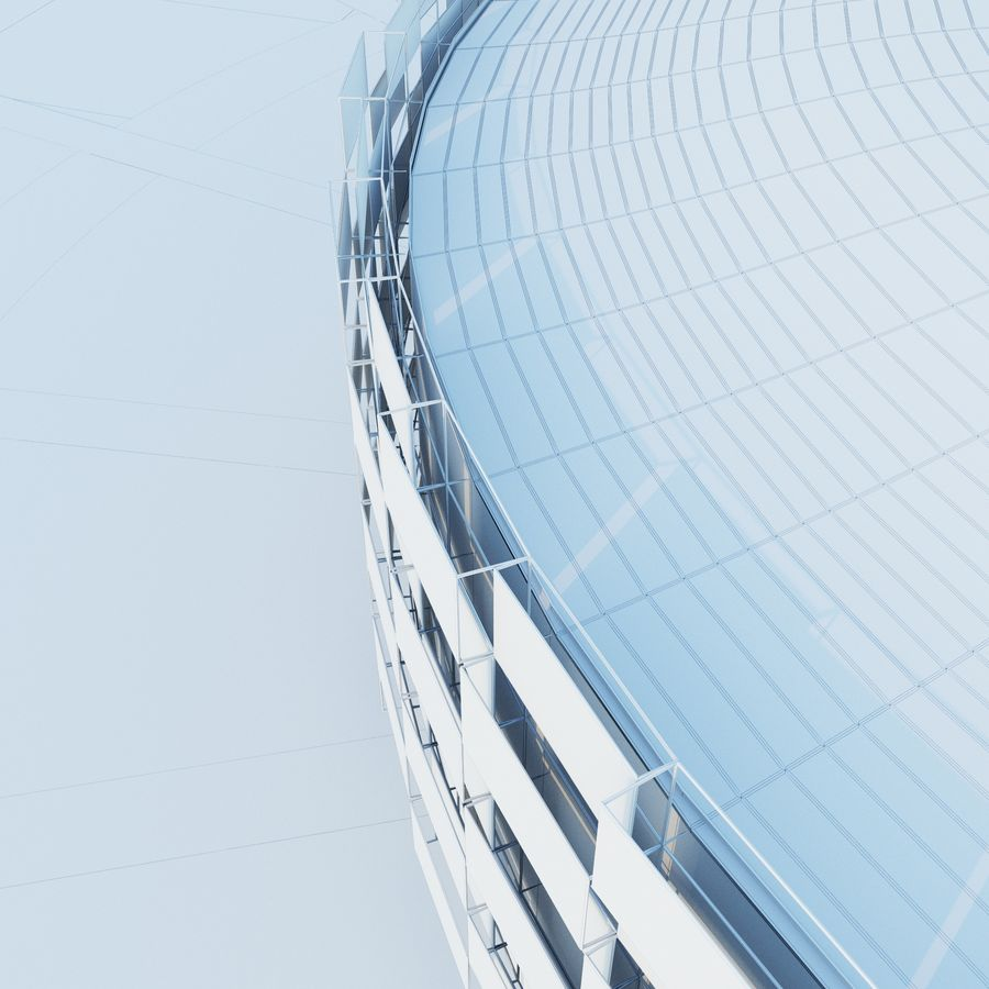 Stadium 06 royalty-free 3d model - Preview no. 8