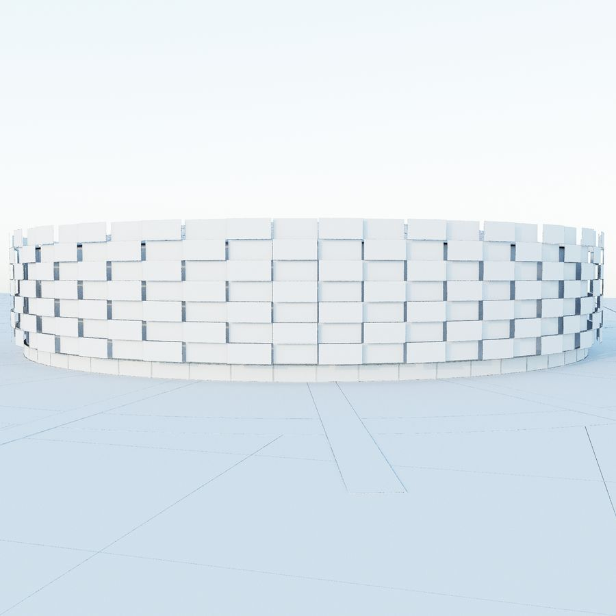 Stadium 06 royalty-free 3d model - Preview no. 7