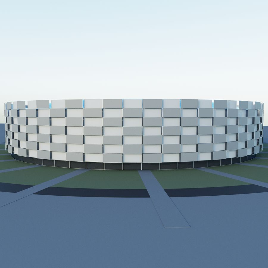 Stadium 06 royalty-free 3d model - Preview no. 5