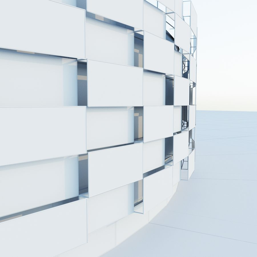 Stadium 06 royalty-free 3d model - Preview no. 9