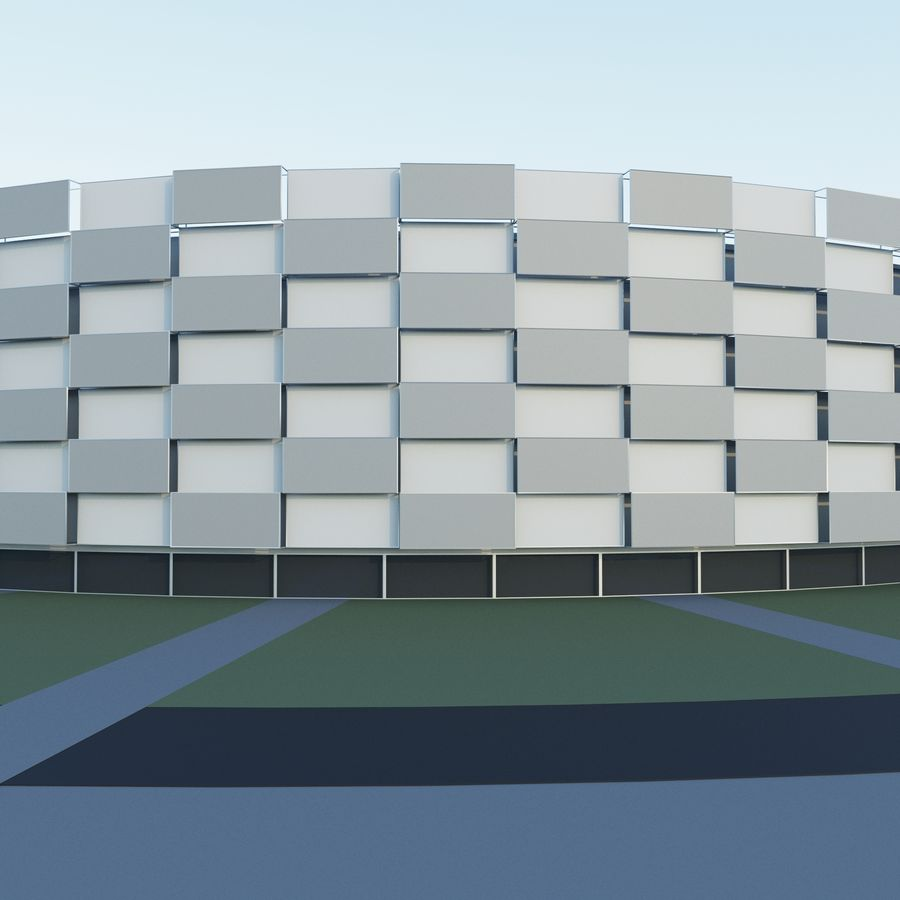 Stadium 06 royalty-free 3d model - Preview no. 3