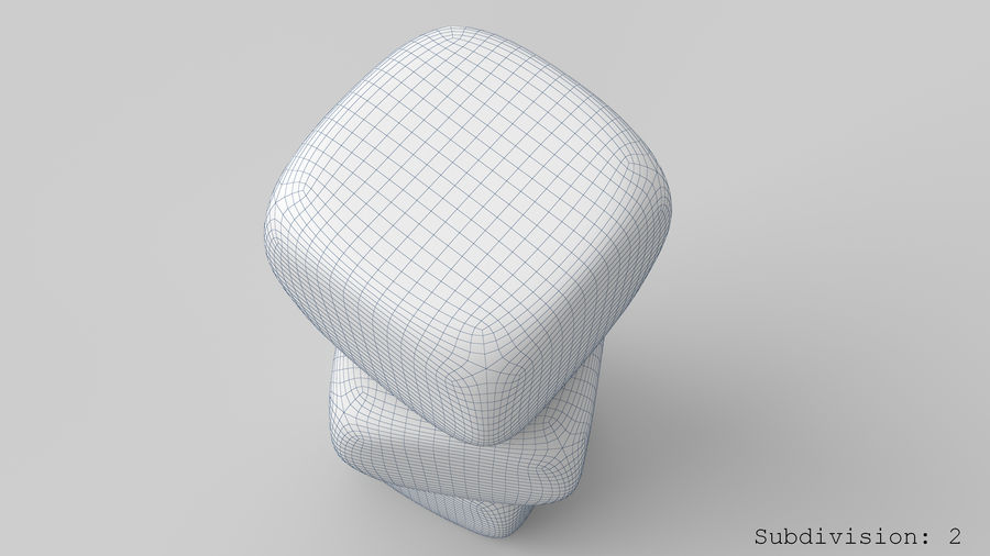 Dice royalty-free 3d model - Preview no. 22