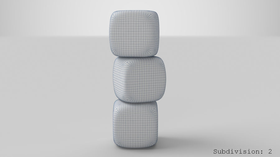 Dice royalty-free 3d model - Preview no. 19