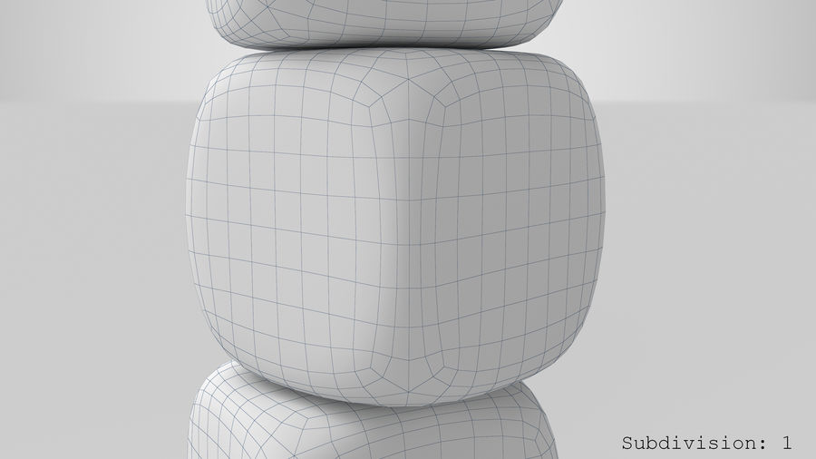 Dice royalty-free 3d model - Preview no. 16