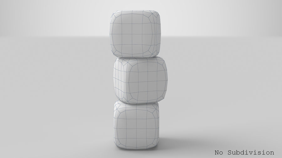 Dice royalty-free 3d model - Preview no. 11