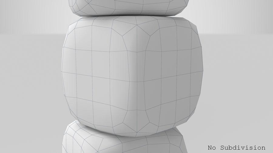 サイコロ royalty-free 3d model - Preview no. 12