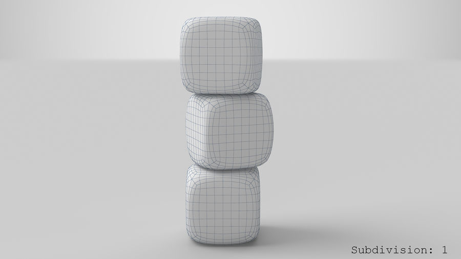 Dice royalty-free 3d model - Preview no. 15