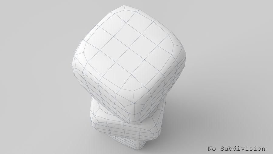 サイコロ royalty-free 3d model - Preview no. 14