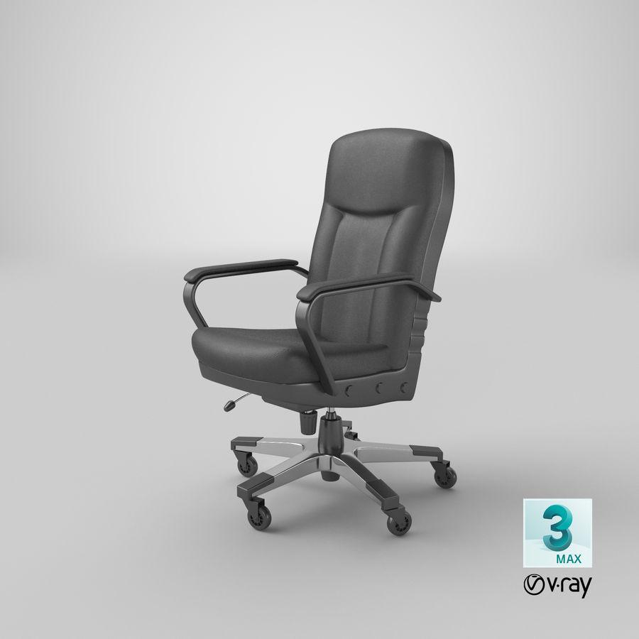 办公椅(1) royalty-free 3d model - Preview no. 17