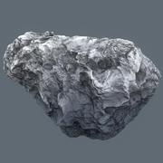 Meteor Asteroid Rock 4K 3d model