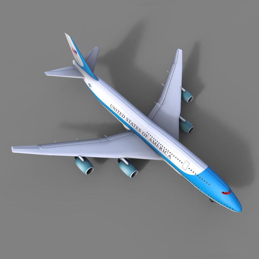 avion, avion, avion low poly royalty-free 3d model - Preview no. 1