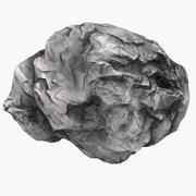 Meteor Asteroid Rock 4K(2) 3d model