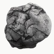 Meteor Asteroid Rock 4K(1) 3d model