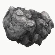 Meteor Asteroid Rock 4K(3) 3d model