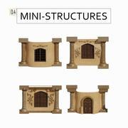 Mini-struktury: 0,4 3d model