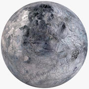 Fictional Alien Planet 02 3d model