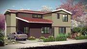 레 비트-듀플렉스 하우스 3d model