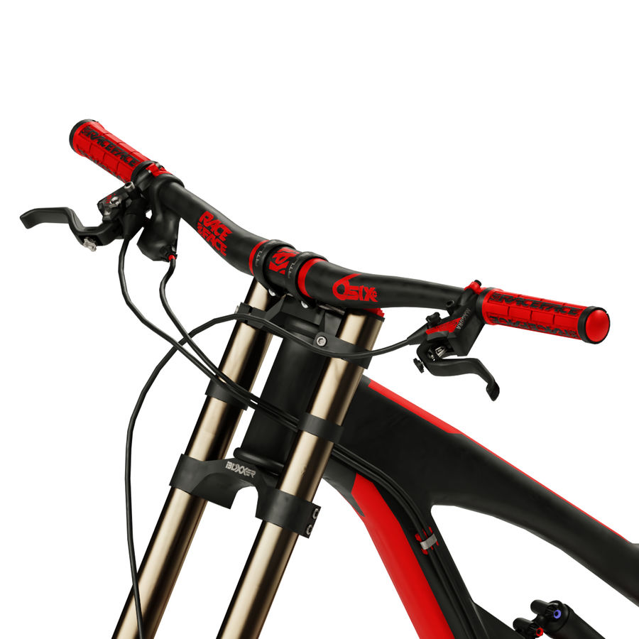 Mountainbike royalty-free 3d model - Preview no. 7