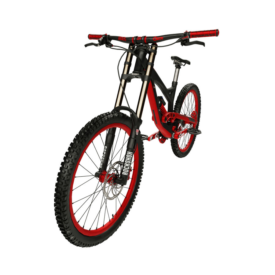 Mountainbike royalty-free 3d model - Preview no. 1