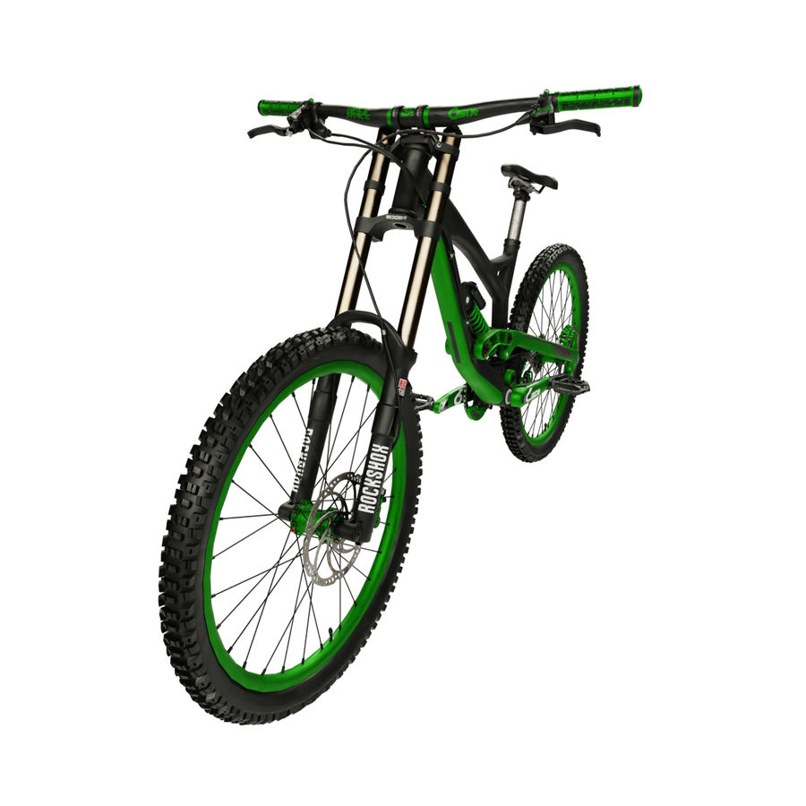 Mountainbike royalty-free 3d model - Preview no. 3