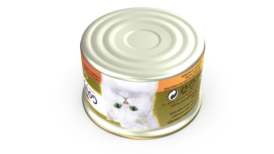 Cat Food royalty-free 3d model - Preview no. 5