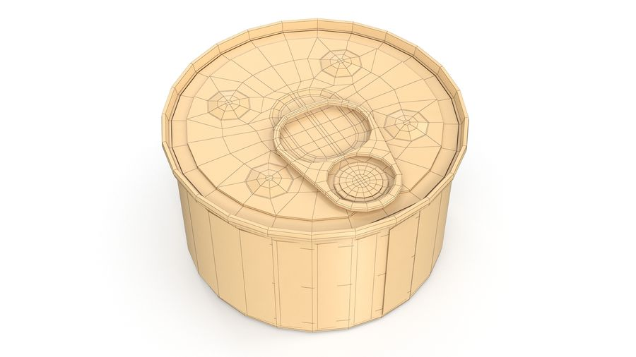 Cat Food royalty-free 3d model - Preview no. 8
